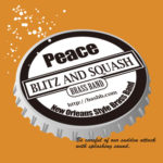 "BLITZ AND SQUASH BRASS BAND ""peace"" 発売中"