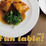 人気の料理教室「Fun table! Vol.15」