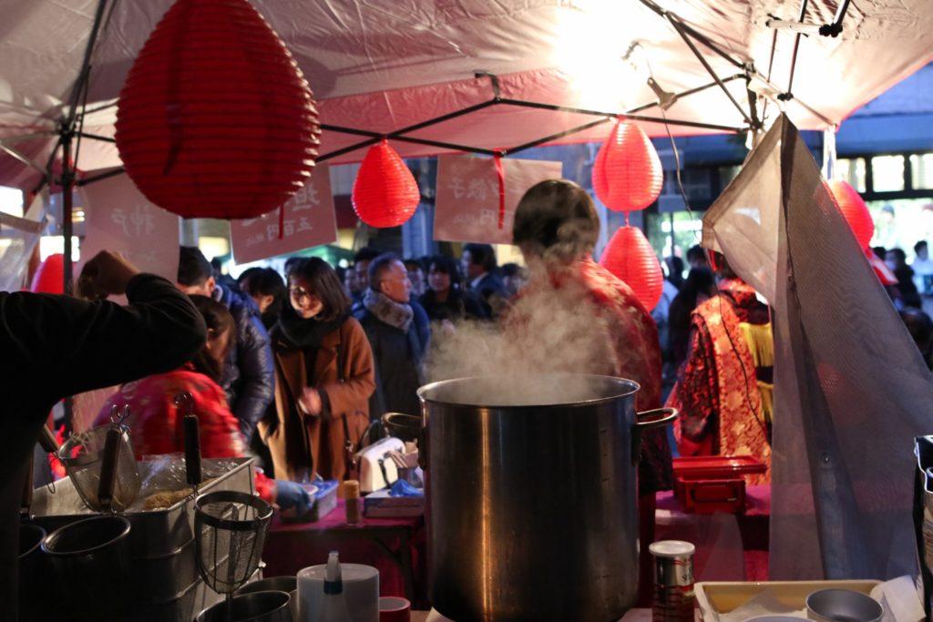 """12/8~17 神戸ルミナリエ 担々麺&スープ餃子 """"神戸金魚"""""""