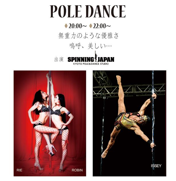 平成最後のPOLE DANCE