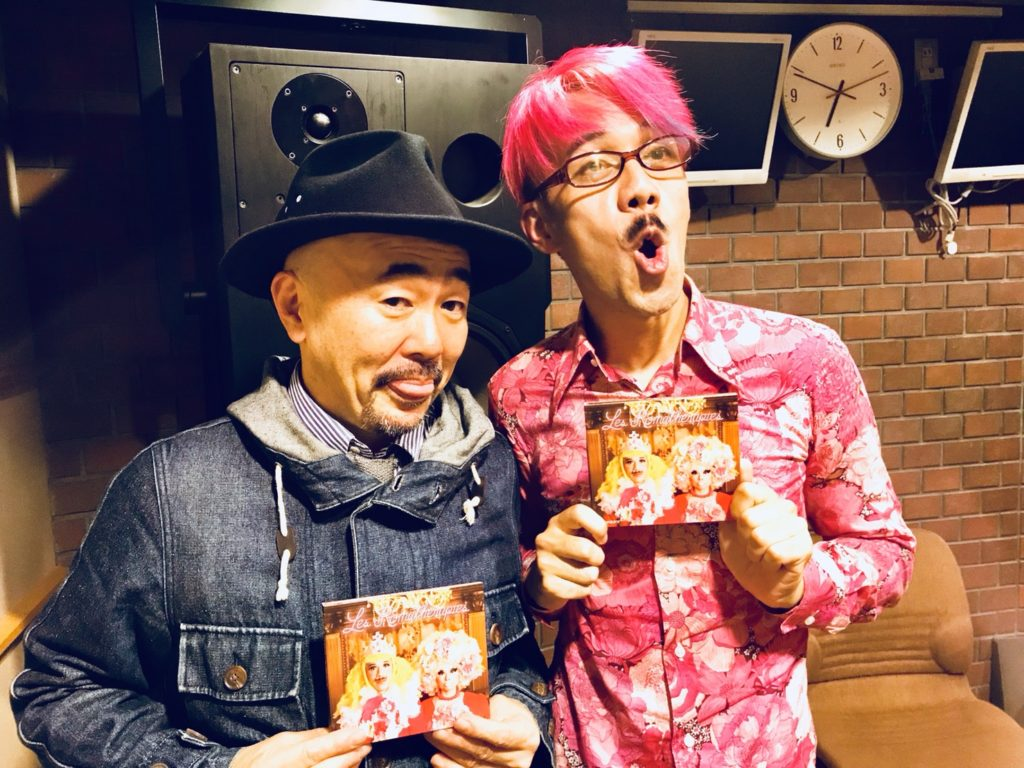 小森さんとTOBIさんとのツーショット!プライベートな時もピンクなTOBIさんです!