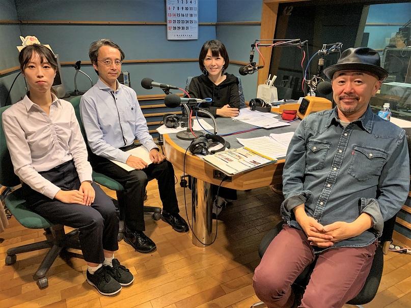 「神戸市立博物館」学芸課の塚原晃さんと水嶋彩乃さん